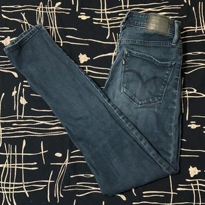 721 Levi's High rise skinny jeans